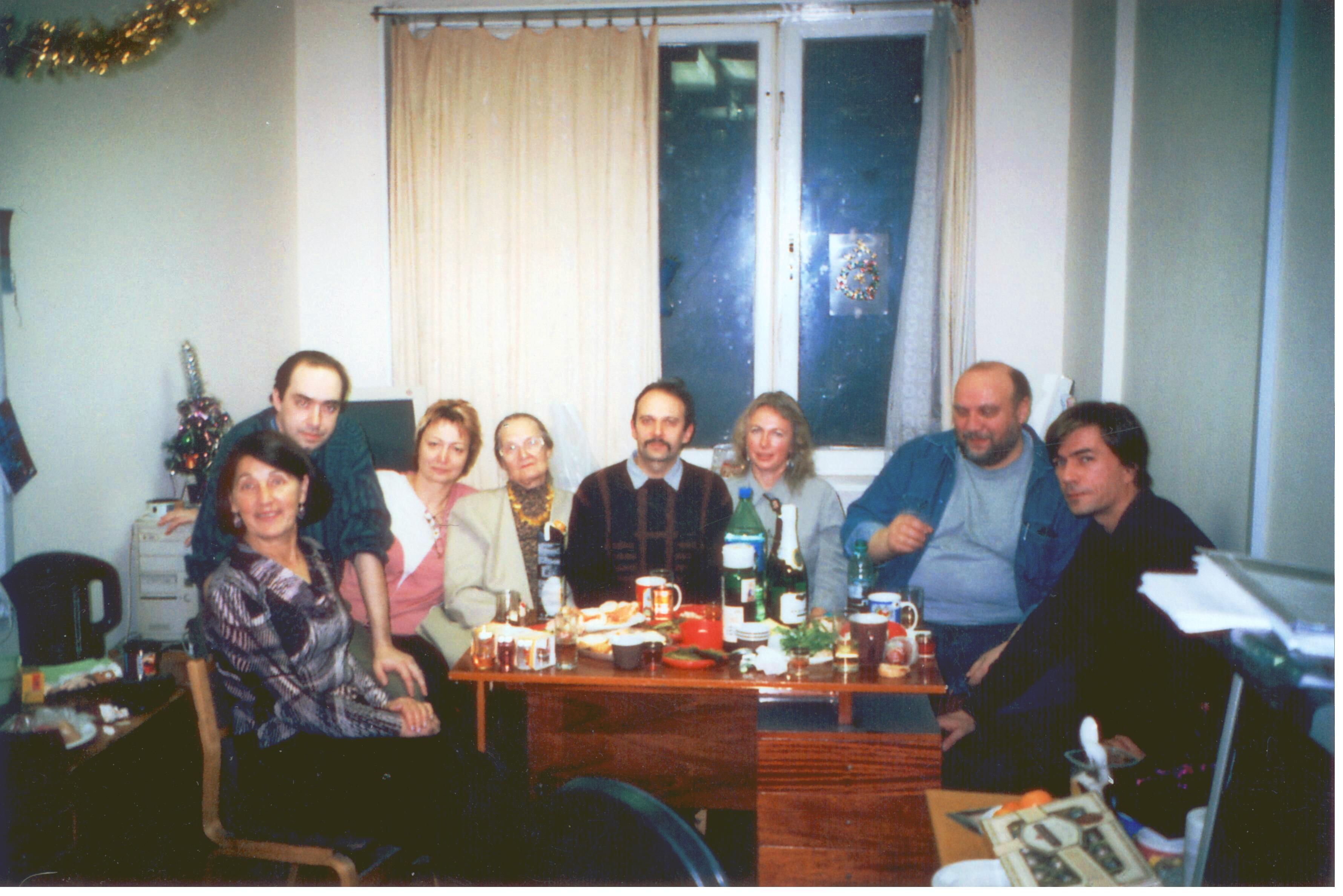 Празднование Нового года в ЛЭФЭЧ.