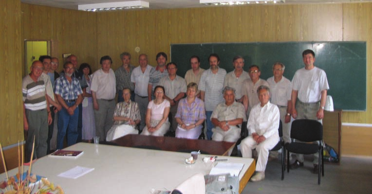 Участники рабочего совещания эксперимента СВД в НИИЯФ МГУ 27 июня 2006 г.